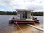 Image de Bateau-maison Pygargue au réservoir Gouin