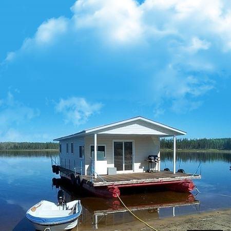 Image de Bateau-maison 87 au réservoir Gouin