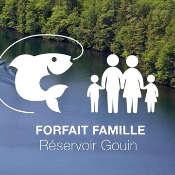 Séjour et pêche en famille au Réservoir Gouin
